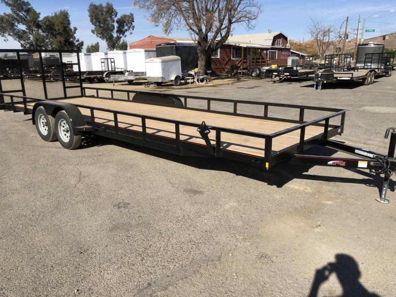 2018 Mirage Trailers  7x24 Utility Trailer