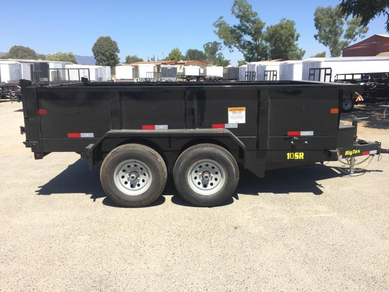 2018 Big Tex Trailers 83X12 10SR Dump Trailer