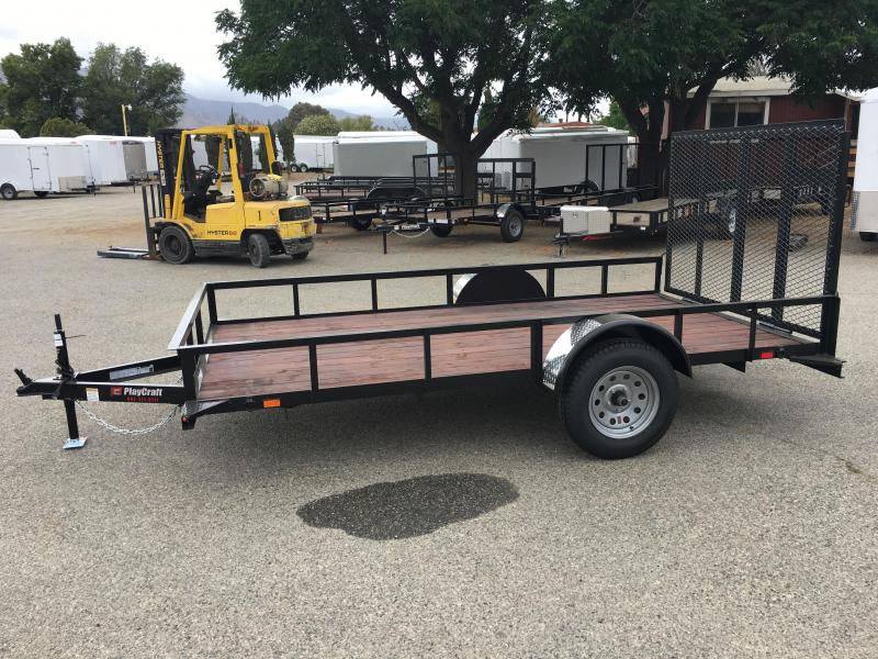 2017 Playcraft 77X12 Utility Trailer