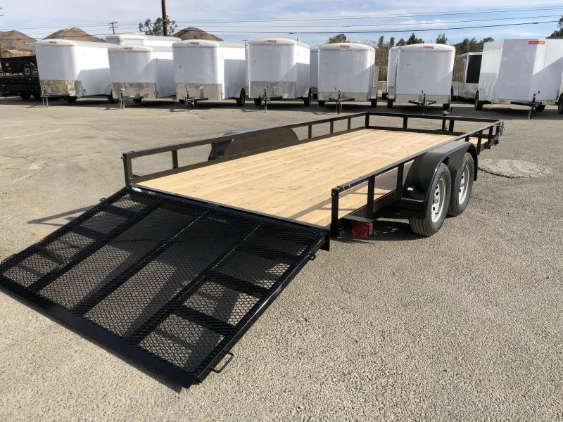 2018 Mirage Trailers  7x16 Utility Trailer