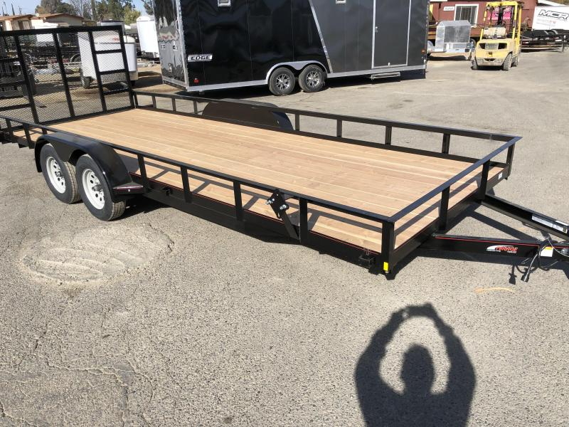 2018 Mirage Trailers  7x20 Utility Trailer