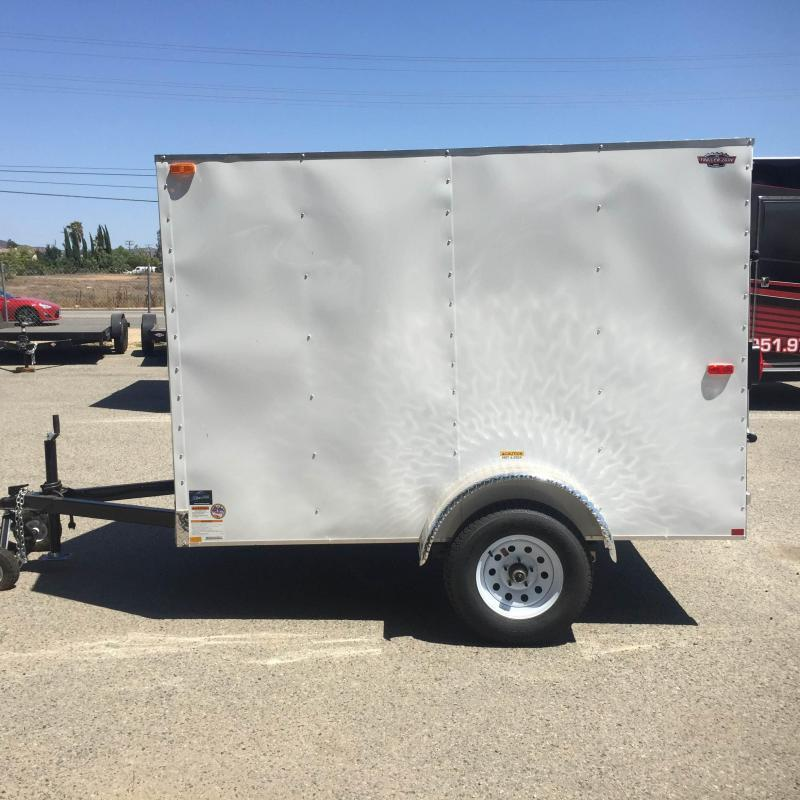 2018 Cargo Craft 5X8 SA Enclosed Cargo Trailer