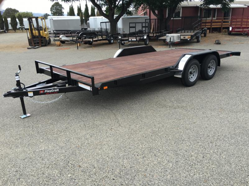 2018 Playcraft CHAMP 82X18 Utility Trailer
