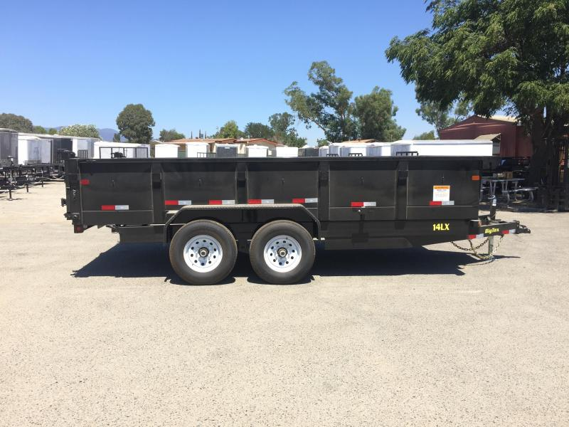 2018 Big Tex Trailers 14LX 83X14 Dump Trailer