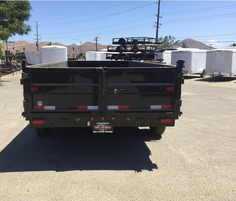 2018 Big Tex Trailers 7X12 14LX Dump Trailer