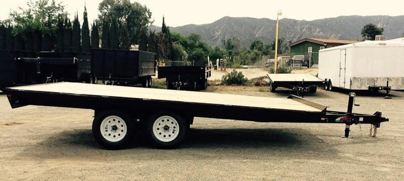 2017 Mirage Trailers 8.5X20 DECK OVER Utility Trailer