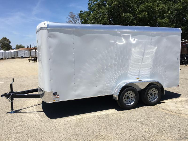 2018 Mirage Trailers XPO 7 X 16 TA2 Enclosed Cargo Trailer