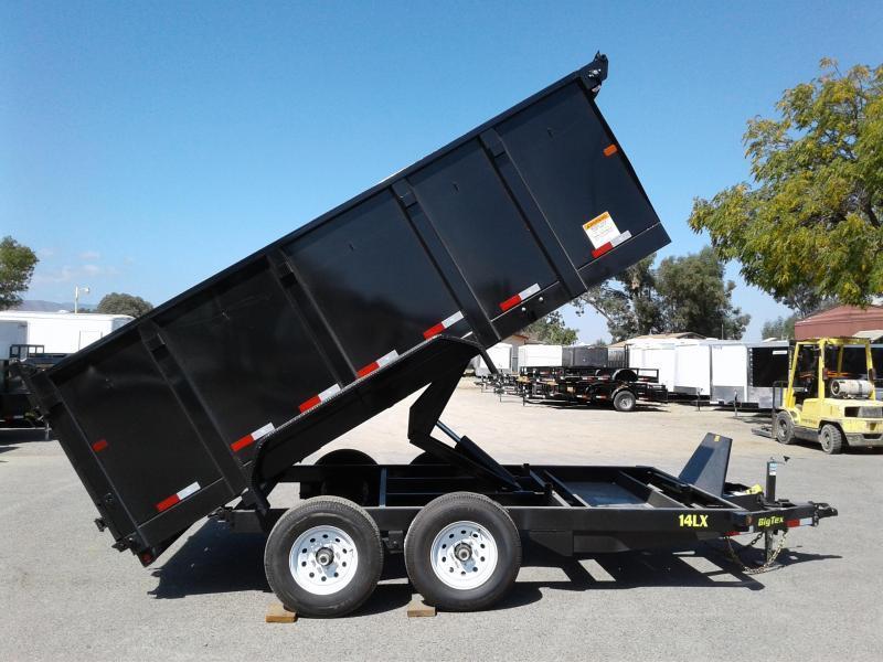 2018 Big Tex Trailers 7X14 14LX Dump Trailer