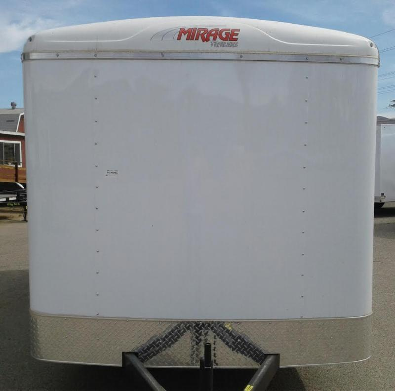 2017 Mirage Trailers XPO 7X16 Enclosed Cargo Trailer