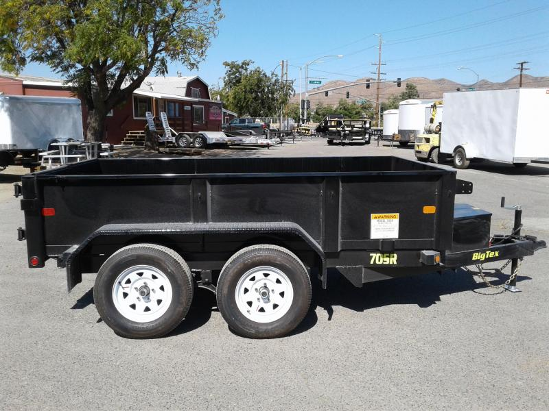 2018 Big Tex Trailers 70SR 5X10 Dump Trailer