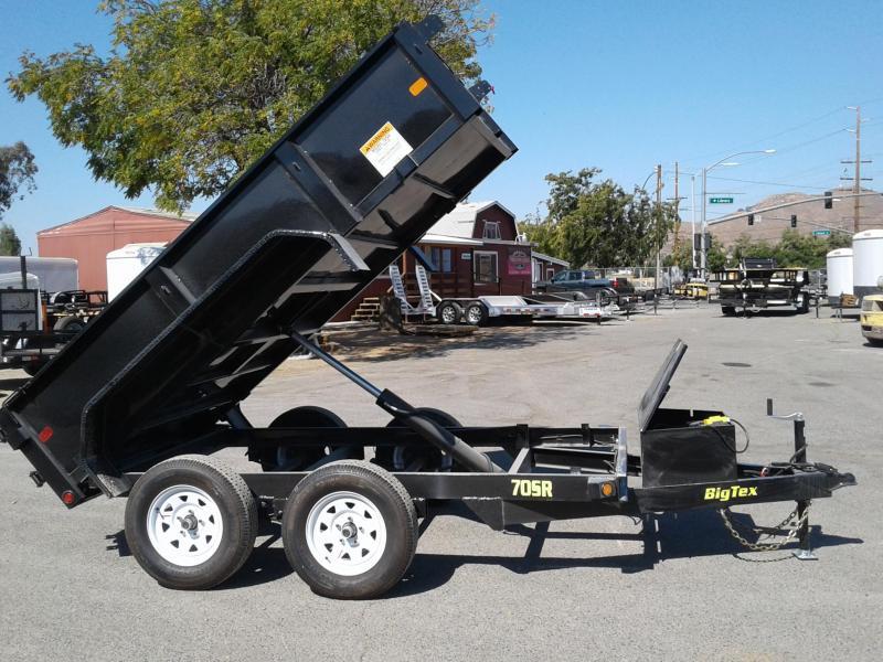 2018 Big Tex Trailers 5X10 70SR Dump Trailer