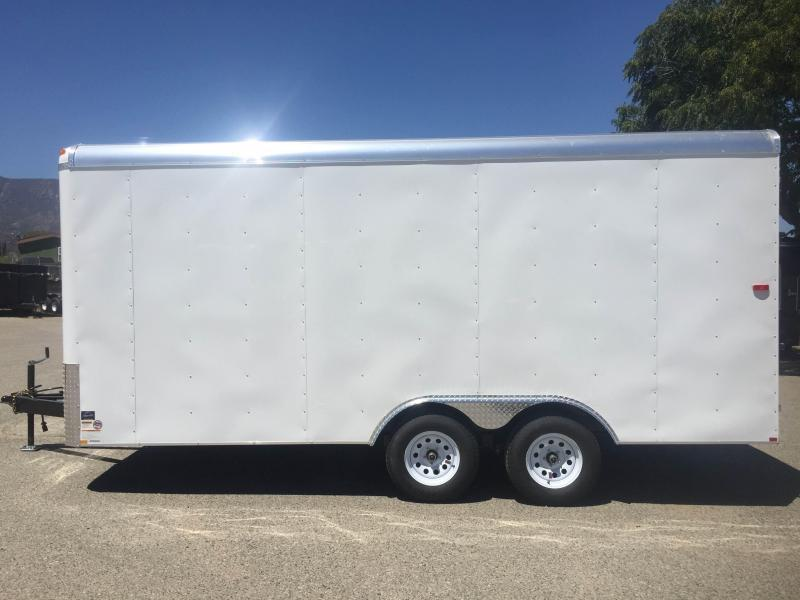 2017 Mirage Trailers 8.5x16 XCEL Enclosed Cargo Trailer