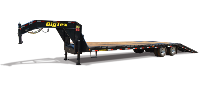 2017 Big Tex Trailers 22GN-355 Equipment Trailer