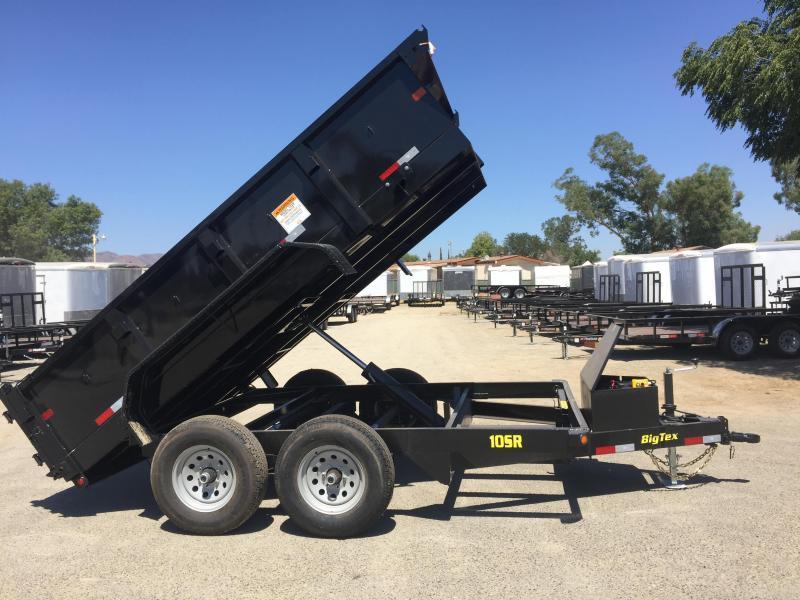2018 Big Tex Trailers 83X12 10SR Dump Trailer