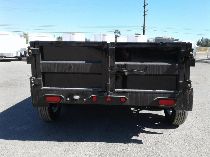 2018 Big Tex Trailers 5X10 70SR Dump Trailer