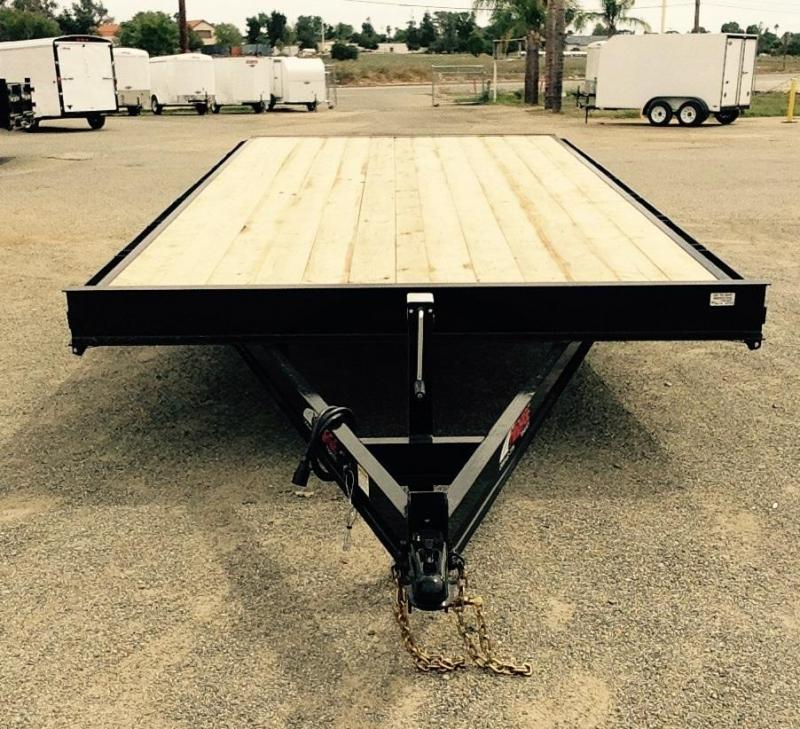 2016 Mirage Trailers 8.5 x 18 DECK OVER Utility Trailer