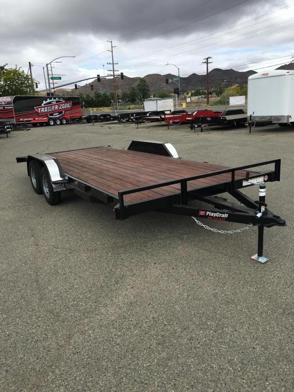 2018 Playcraft 82X18 CHAMP Car / Racing Trailer