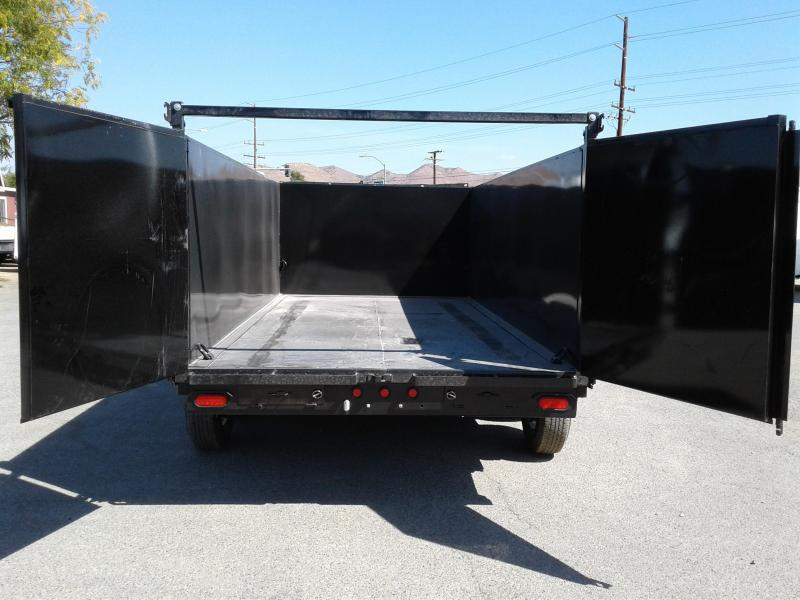 2018 Big Tex Trailers 7X14 14LX Dump Trailer