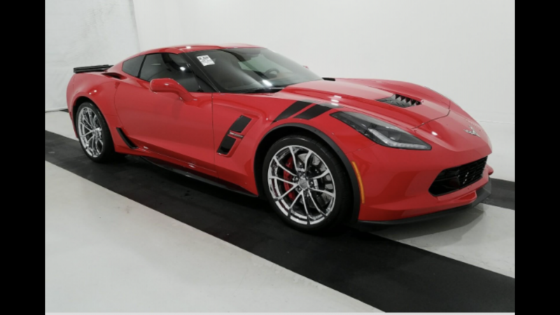 2017 Chevrolet CORVETTE GRN SPT3LT Car