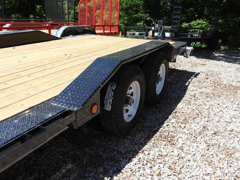 "2018 PJ B5 102"" x 20' 9899 GVW Car / Racing Trailer"