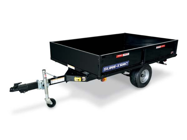 2017 Sure-Trac 4.5 x 8ft Utility Dump Trailer