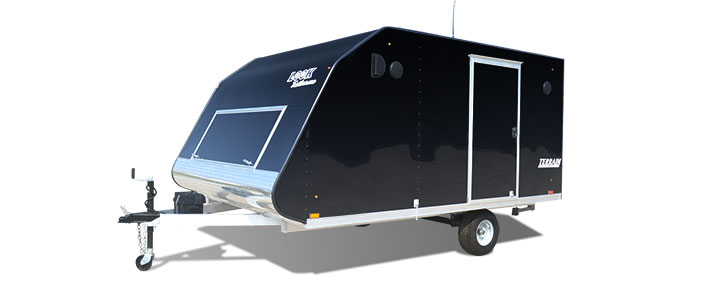 2018 Look Trailers Aluminunm Terrain Snow Trailer Snowmobile Trailer