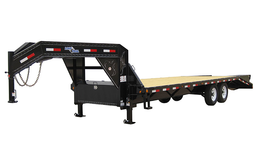 "2015 Load Trail 102"" x 20' Heavy Duty Gooseneck 2-7000 lb Axles"