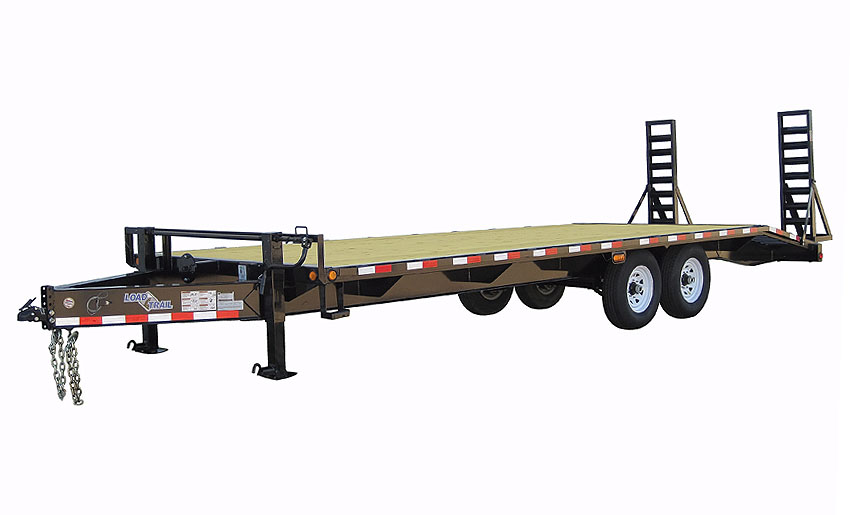 "2018 Load Trail 102"" X 20' Tandem Heavy Duty Pintle Hook Equipment Trailer"