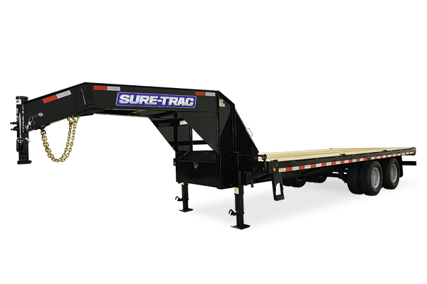 2017 Sure-Trac hd low profile beavertail deckover with gooseneck