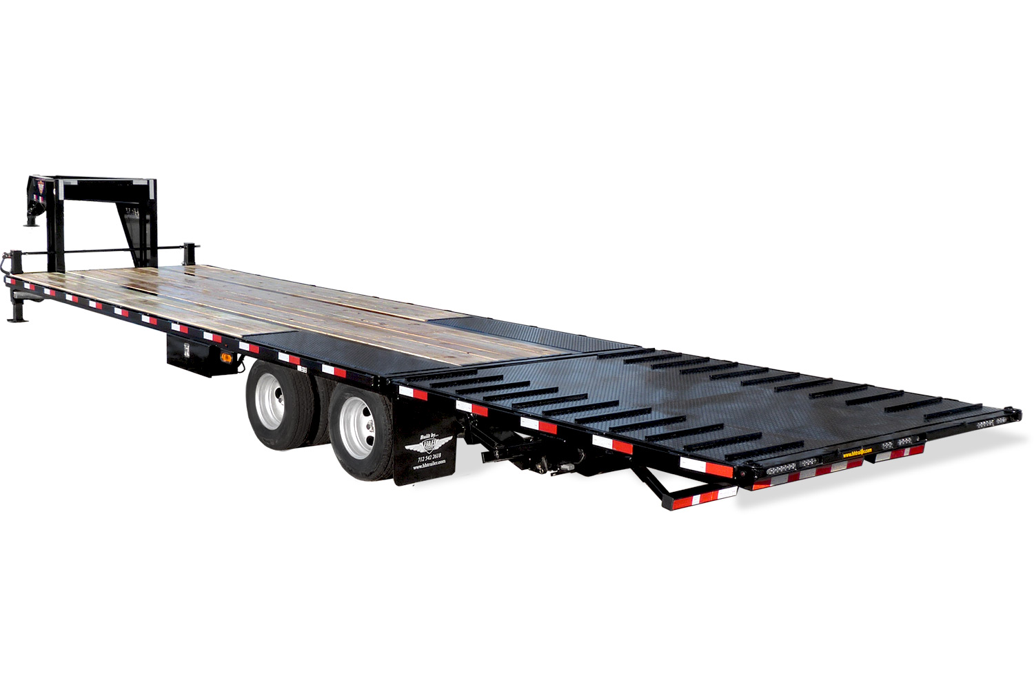 2020 H and H Trailer 20+10 HYD TAIL GN 19LB 20K