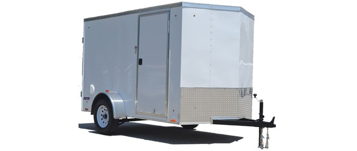 2017 Pace American Journey 7 Wide Tandem Cargo / Enclosed Trailer