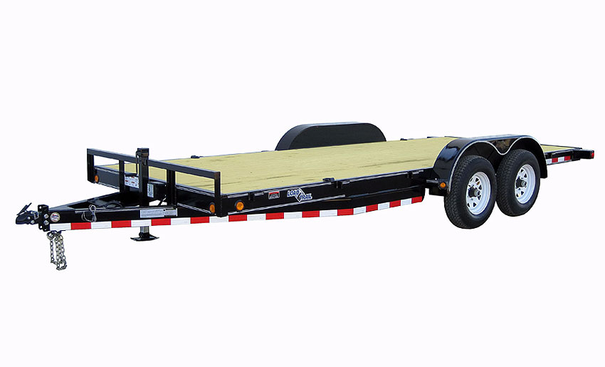"2018 Load Trail 83"" X 18' Tandem Carhauler Car / Racing Trailer"