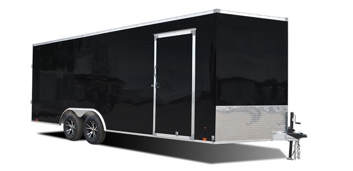 2018 Cargo Express Aluminum Ax Flat Top Auto Car / Racing Trailer