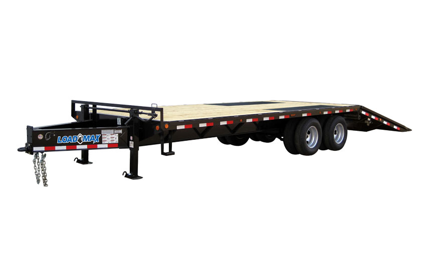 "2019 Load Trail 102"" X 26' Tandem Heavy Duty Pintle Hook Equipment Trailer"