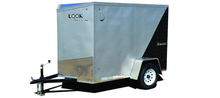 2018 Look Trailers Look Ewlc 5 Wide Single Cargo / Enclosed Trailer
