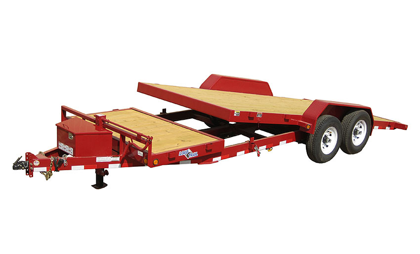 "2014 Load Trail 81.5"" X 20' Tandem Axle Tilt Deck w/Gravity"