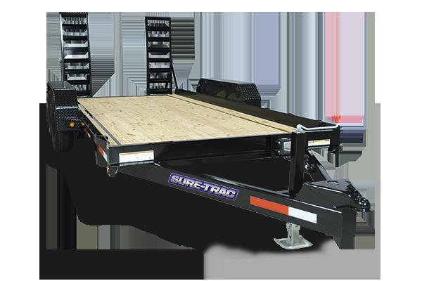 2018 Sure-Trac 7 x 14 Skid Steer- 10k