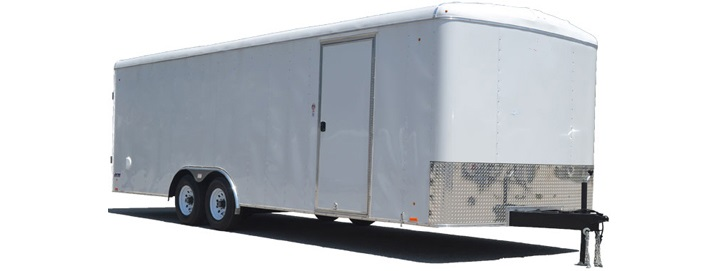 2018 Pace American Journey Round Top Auto Car / Racing Trailer