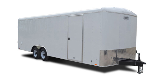 2018 Cargo Express Xl Auto Flat Top Wedge 10k Car / Racing Trailer