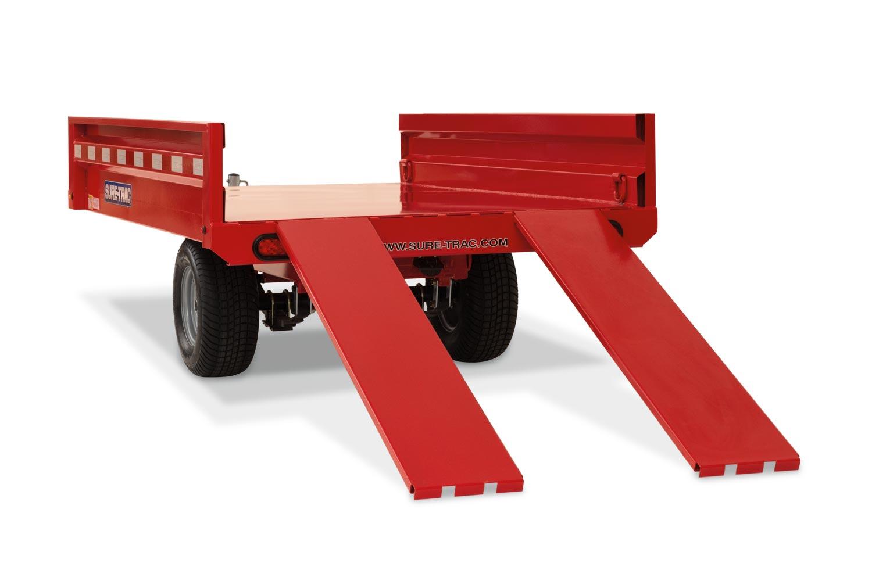 2019 Sure-Trac 4.5 x 8ft Utility Dump Trailer