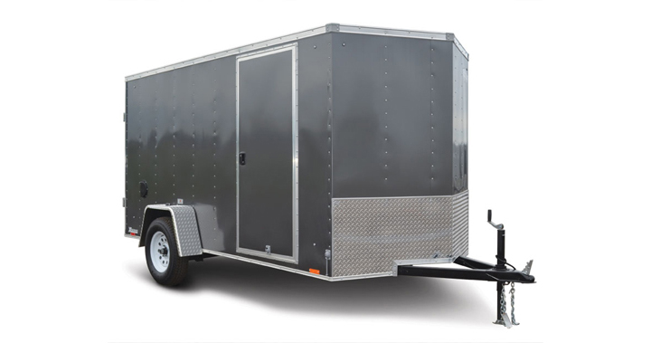 2017 Cargo Express Xlw 6 Wide Single Cargo Cargo / Enclosed Trailer