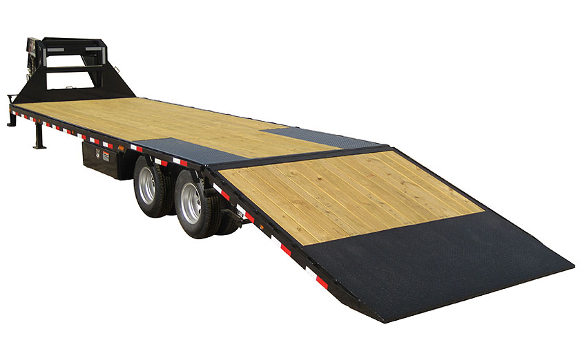 "2019 Load Trail 102"" X 30' Tandem Heavy Duty Gooseneck Equipment Trailer"