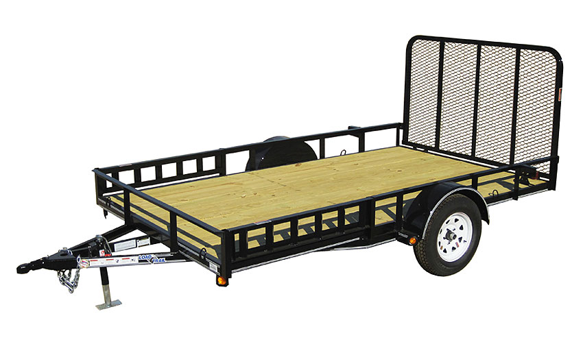 "2016 Load Trail 77"" X 14' Single Axle"