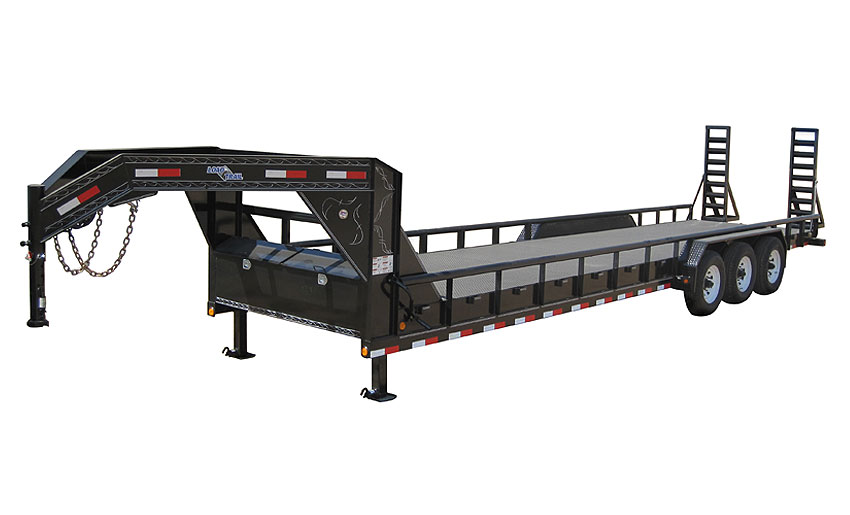 "2019 Load Trail 102"" X 40' Triple Gooseneck Carhauler Car / Racing Trailer"
