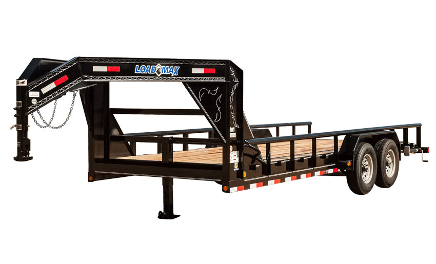 "2016 Load Trail 83"" X 26' Gooseneck Carhauler w/8"" Channel Frame & Pipe Top"