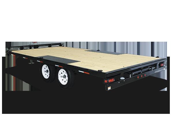 2017 Sure-Trac 8.5 X 20 Flat Deck Deckover, 10k