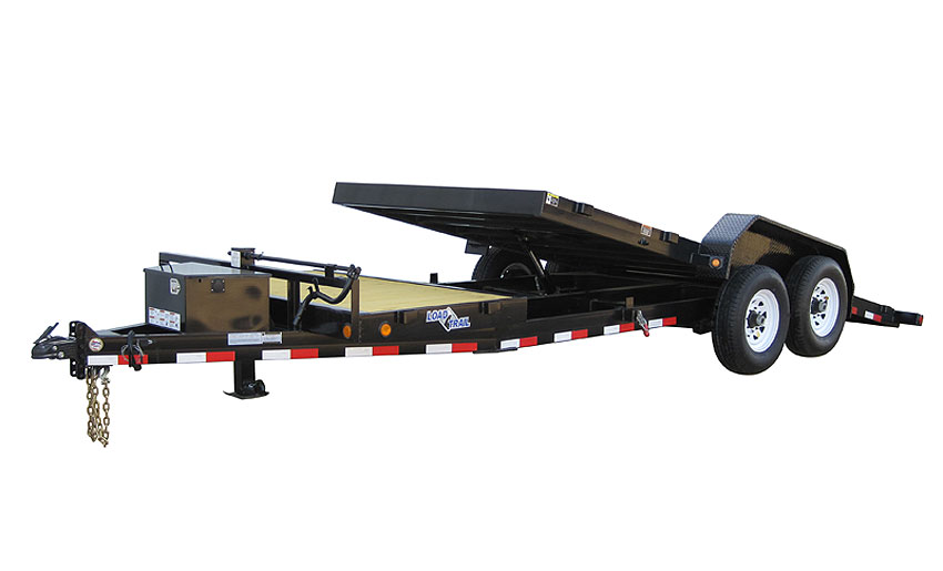 "2014 Load Trail 102"" X 20' Tandem Axle Tilt Deck  w/Power"