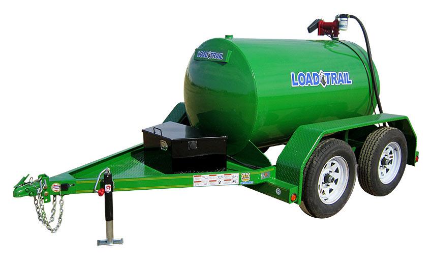 """2013 Load Trail 60"""" X 10' Tandem Axle Fuel Tank"""