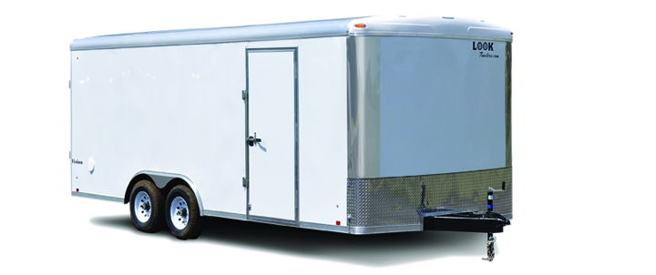 2017 Look Trailers Vision Round Top / Rounded Front Car / Racing Trailer