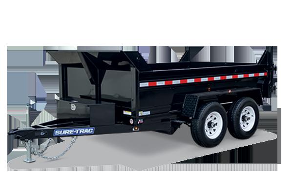 2018 Sure-Trac 82 IN X 12 LPro 10K Std. Dual Ram Dump